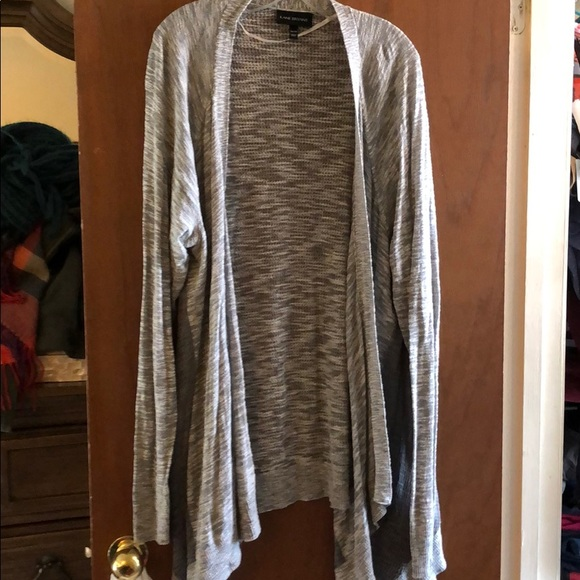Lane Bryant Cocoon Cardigan Sweater Womens Plus 14//16 Knit Open Front Black 1x